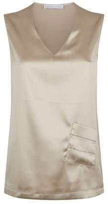 Fabiana Filippi Silk Sleeveless Blouse