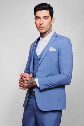 boohoo Skinny Fit Plain Suit Jacket