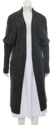Acne Studios Mohair-Blend Open Front Cardigan