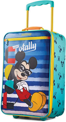 "American Tourister Disney Mickey Mouse 18"" Softside Rolling Suitcase"