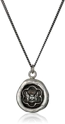 Pyrrha talisman Sterling Be True To Yourself Necklace, 18''