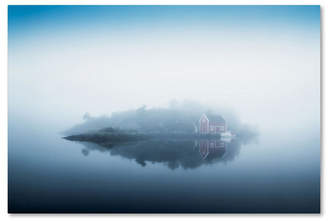 "Arvid Lars Hellebo 'Free Falling' Canvas Art - 19"" x 12"" x 2"""
