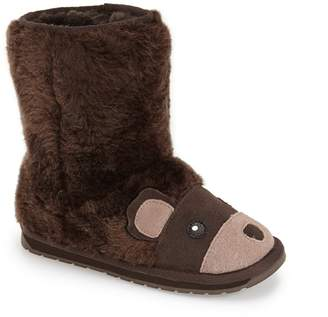 Emu Little Creatures - Brown Bear Wool Boot