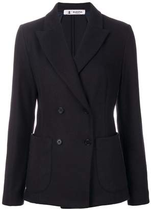 Barena patch pockets double-breasted blazer