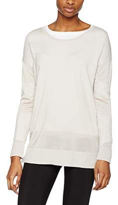 J. Lindeberg Women's Melly Shiny Mix Jumpers,8 (Manufacturer Size:Small)