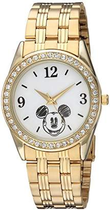 Disney Women's Mickey Mouse' Quartz Metal and Stainless Steel Casual Watch