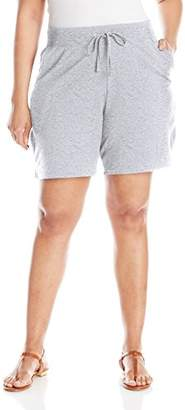Just My Size Women's X-Temp French Terry Pocket Short