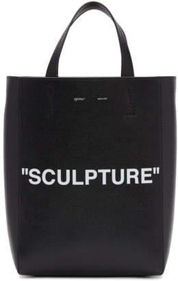 Off-White Black Medium Sculpture Tote