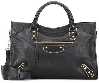 ebc1f195b438 Balenciaga Metallic Edge City Bag - ShopStyle