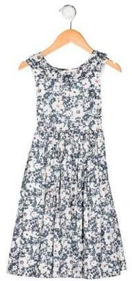 CZ by Carolina Zapf Girls' Floral Print Dress