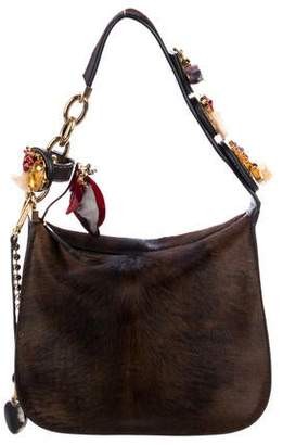 Marni Embellished Midtown Bag