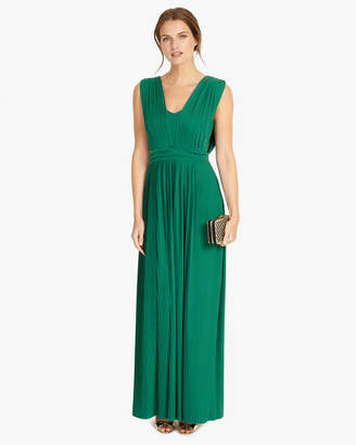Phase Eight Aldora Pleat Maxi Dress