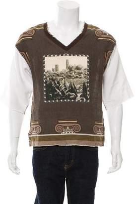 Dolce & Gabbana Printed Short Sleeve Shirt