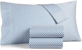 Charter Club Damask Designs Printed Dot Extra Deep King 4-pc Sheet Set, 550 Thread Count