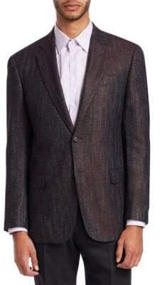 Emporio Armani G-Line Melange Wool Sportcoat