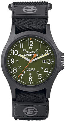 Timex Expedition Camper Mens Black Fabric Strap Watch TW4B001009J