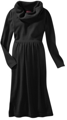Merona Maternity Long-Sleeve Cowl-Neck Sweater Dress - Assorted Colors