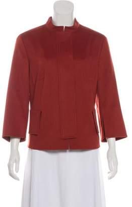 Akris Punto Lightweight Wool Short Coat