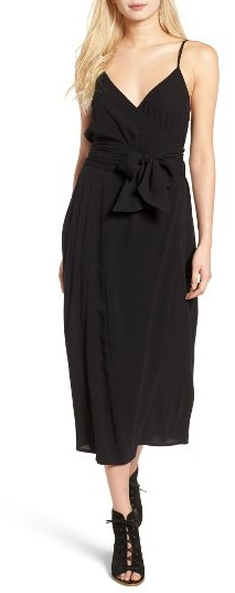 Women's Hinge Midi Wrap Dress