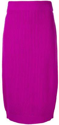 Marc Jacobs ribbed pencil skirt