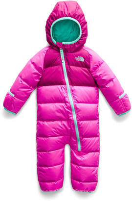The North Face Lil' Snuggler Two-Tone Down Hooded Snowsuit, Size 18-24 Months