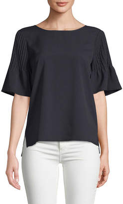 French Connection Bell Sleeve Top