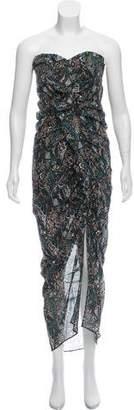 Veronica Beard Silk Asymmetrical Dress