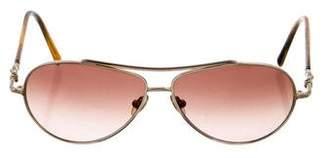 David Yurman Gradient Aviator Sunglasses