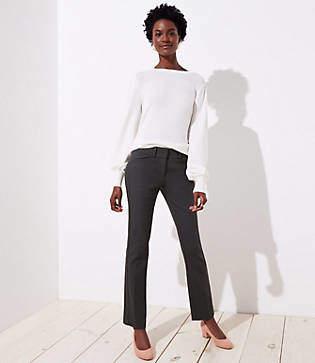 LOFT Petite Straight Leg Pants in Marisa Fit
