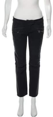 Balmain Straight-Leg Mid-Rise Jeans