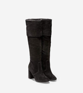 93bd6f0f01d Suede Cuffed Boots - ShopStyle