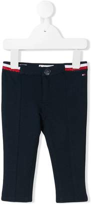 Tommy Hilfiger Junior logo waistband trousers