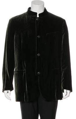 Giorgio Armani Velvet Evening Jacket