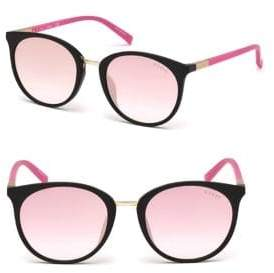 GUESS 52MM Round Sunglasses
