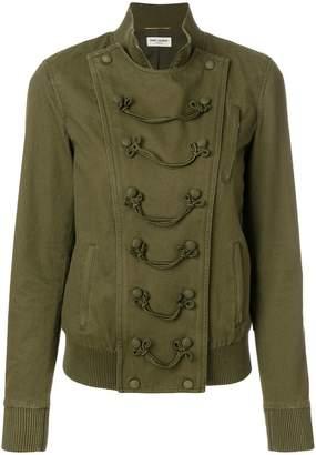 Saint Laurent military bomber jacket