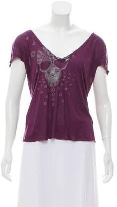 Thomas Wylde Printed Short Sleeve T-Shirt