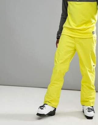 O'Neill Hammer Ski Pants in Neon Yellow