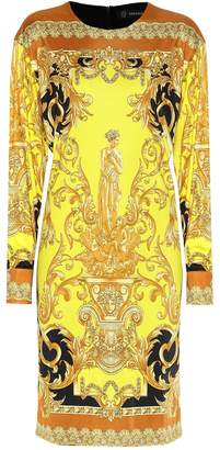 Versace Printed minidress