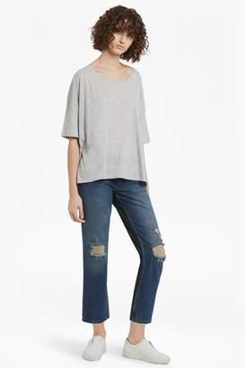 French Connenction Indi Mash Up Boyfit Jeans
