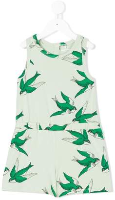 Mini Rodini bird print playsuit