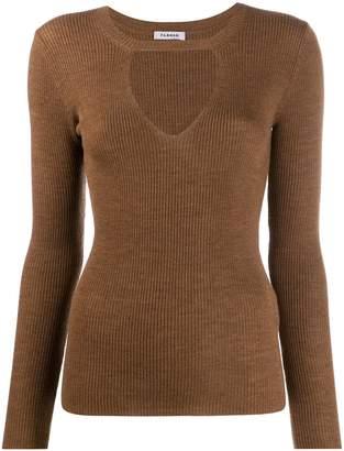 P.A.R.O.S.H. ribbed knit jumper