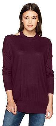Splendid Women's Canarise Cut Out Sweater
