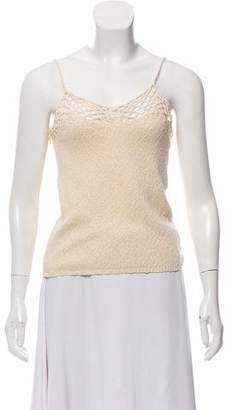 Raquel Allegra Crocheted Knit Camisole w/ Tags