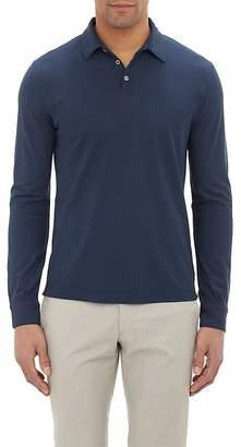 Zanone Men's Slub Polo Shirt