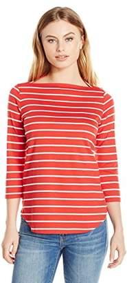 Pendleton Women's Petite Marseille Stripe Tee