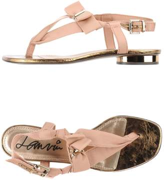 Lanvin Toe strap sandals