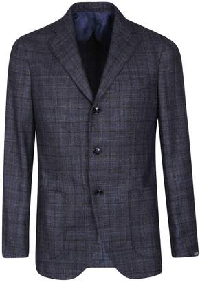 Barba Napoli Check Blazer