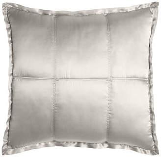 Donna Karan Home Reflection Quilted Silk European Sham