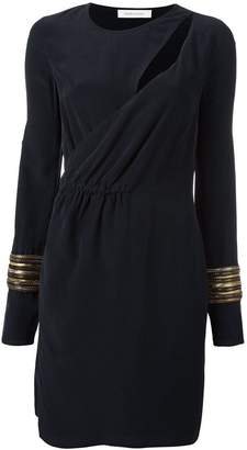 Pierre Balmain cut-out wrap dress