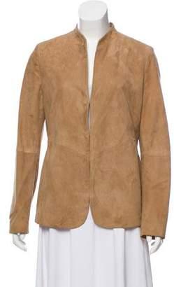 Arabella Rani Structured Suede Jacket